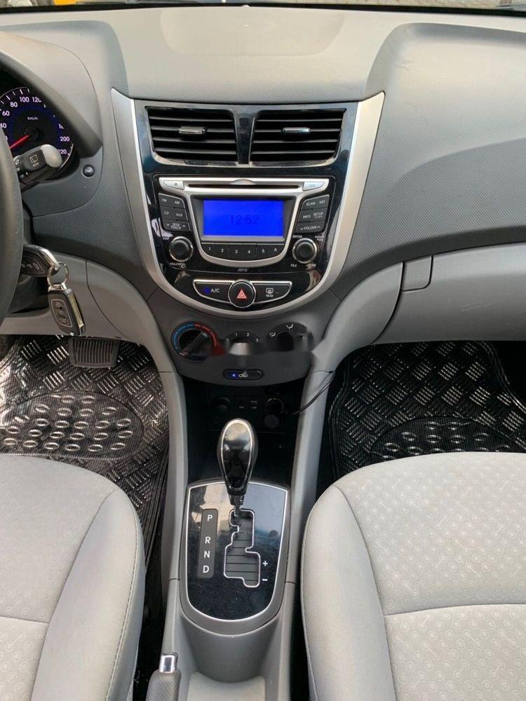 Bán Hyundai Accent sản xuất 2014, màu nâu xe gia đình, 438 triệu xe nguyên bản (7)