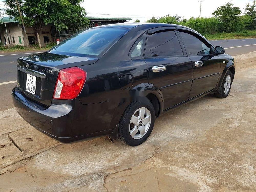 Cần bán xe Daewoo Lacetti 2008, màu đen chính chủ, giá 173tr xe nguyên bản (4)
