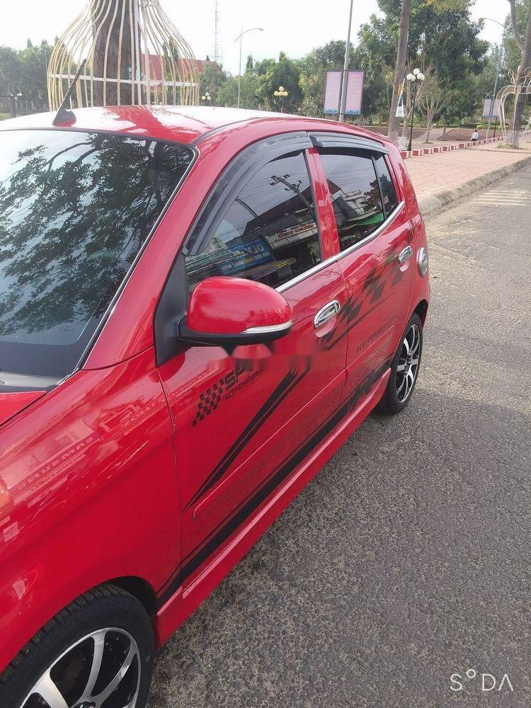 Cần bán xe Kia Morning năm sản xuất 2010, màu đỏ, nhập khẩu chính hãng (5)