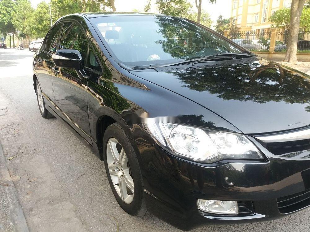 Cần bán lại xe Honda Civic năm sản xuất 2007, màu đen chính chủ xe nguyên bản (3)