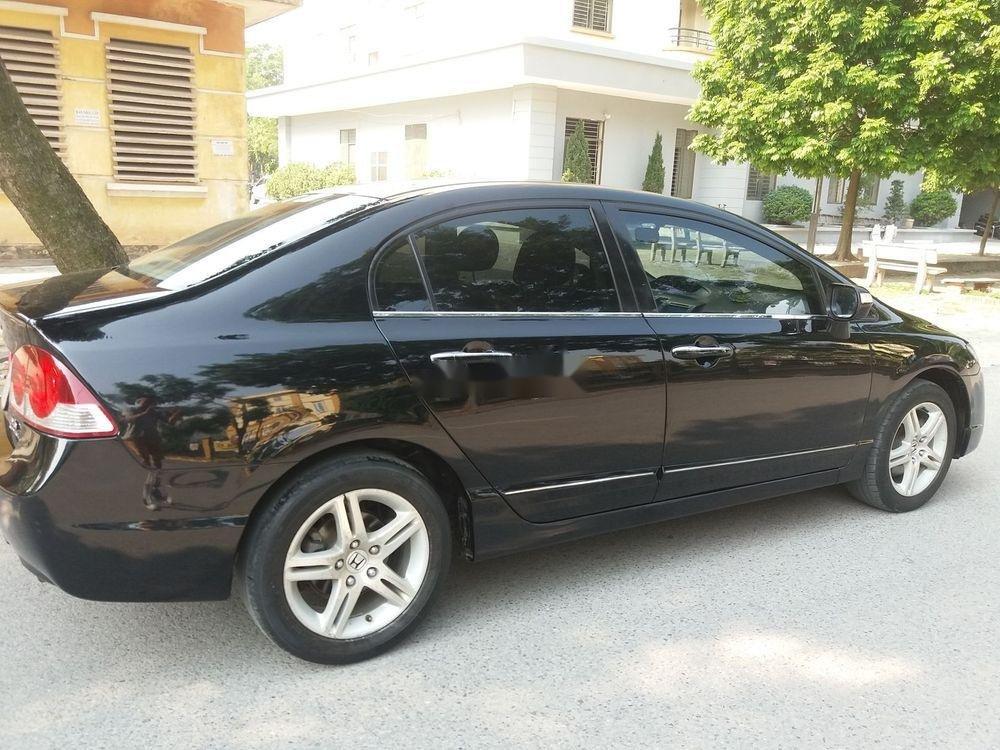 Cần bán lại xe Honda Civic năm sản xuất 2007, màu đen chính chủ xe nguyên bản (1)