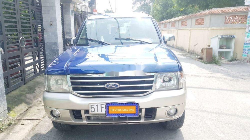 Bán Ford Everest đời 2005, màu xanh lam, nhập khẩu nguyên chiếc chính hãng (1)