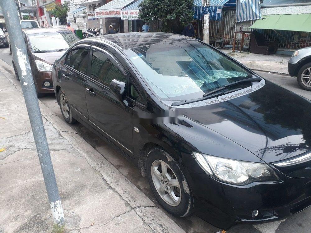 Bán ô tô Honda Civic năm 2007, màu đen xe gia đình, giá chỉ 320 triệu xe nguyên bản (1)