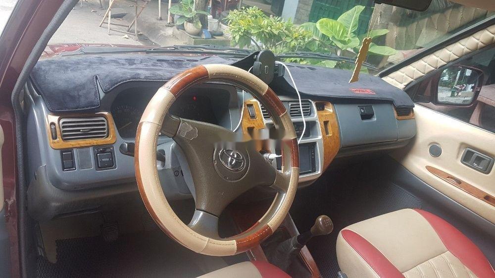 Bán xe Toyota Zace 2005, màu đỏ chính chủ (9)