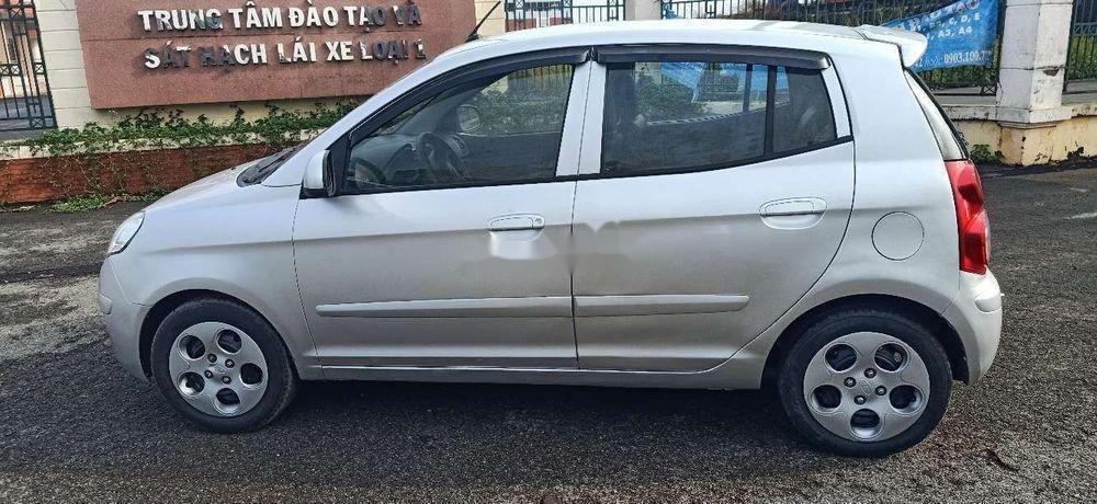 Bán xe Kia Morning đời 2011, màu bạc chính chủ xe nguyên bản (6)