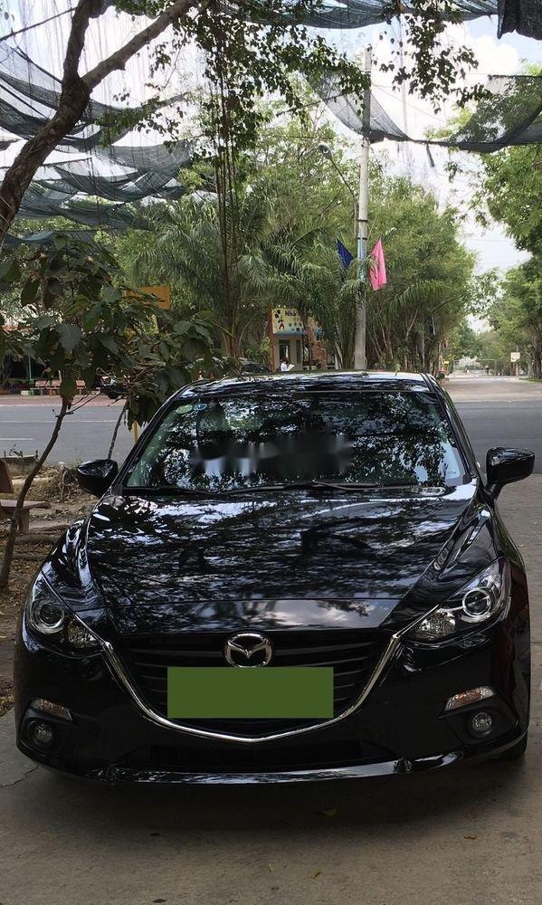 Bán Mazda 3 sản xuất 2016, màu đen, nhập khẩu, xe gia đình (2)