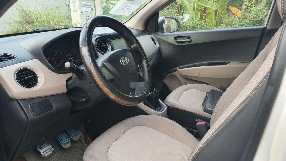 Cần bán xe Hyundai Grand i10 2015, màu trắng, nhập khẩu, 305 triệu (4)