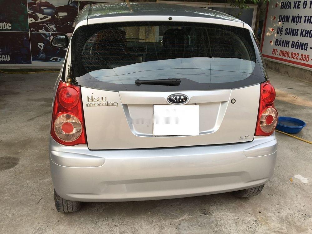 Cần bán xe Kia Morning năm sản xuất 2011, màu bạc xe nguyên bản (4)