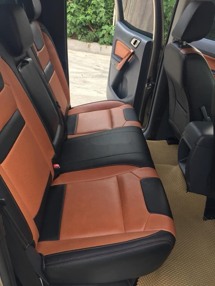 Cần bán lại xe Ford Ranger sản xuất 2017, màu nâu còn mới xe nguyên bản (5)