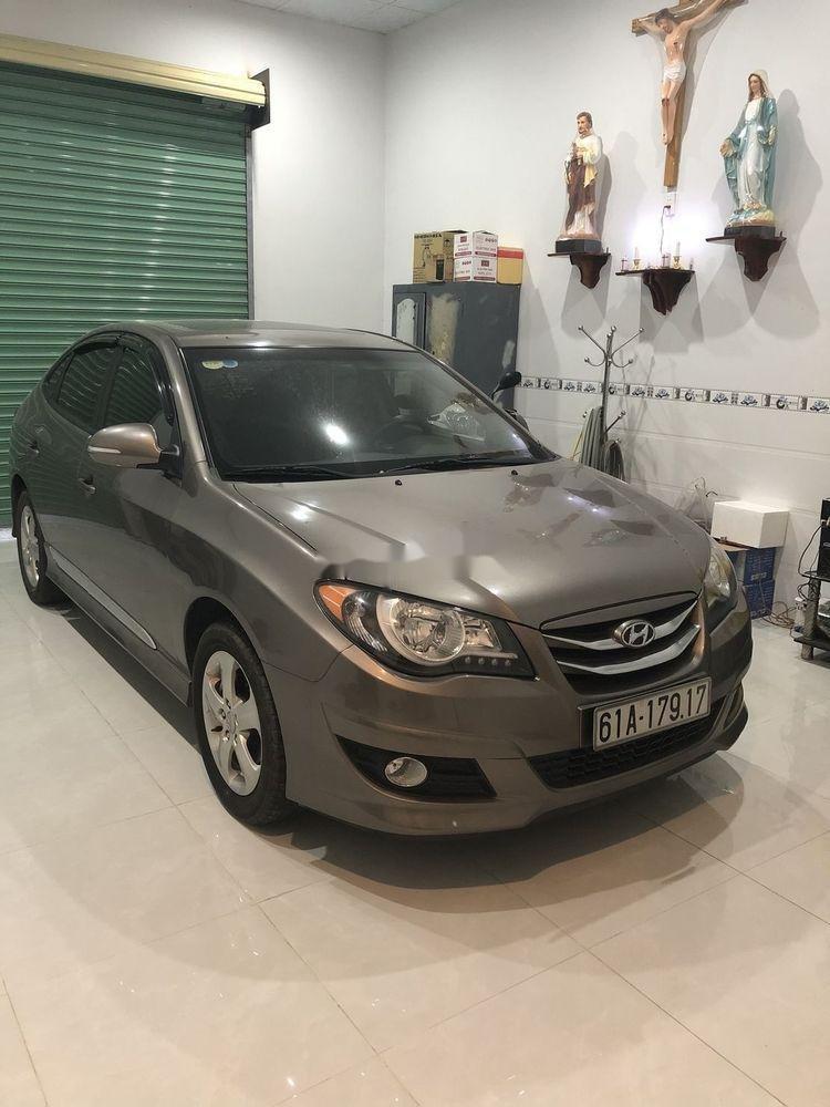 Bán Hyundai Avante sản xuất 2014, màu xám xe gia đình, giá tốt xe nguyên bản (1)