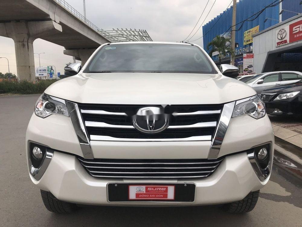 Bán ô tô Toyota Fortuner đời 2019, màu trắng xe nguyên bản (1)