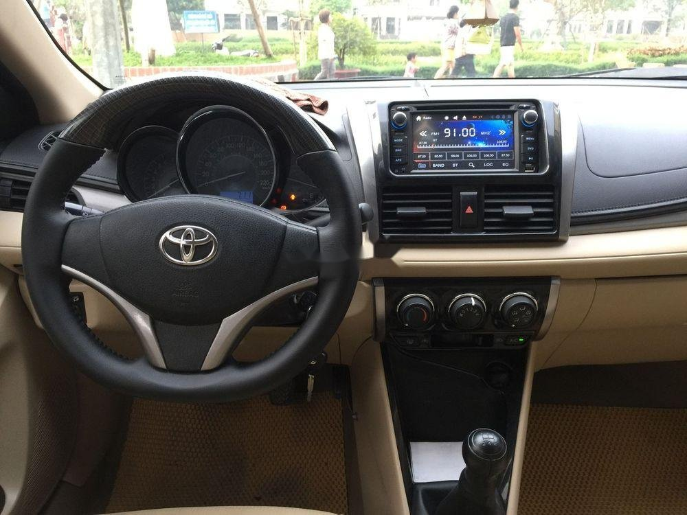 Bán xe Toyota Vios đời 2015, màu đen, chính chủ, 382tr (6)