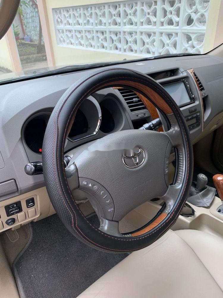 Cần bán gấp Toyota Fortuner đời 2010, màu đen như mới, giá tốt xe nguyên bản (2)