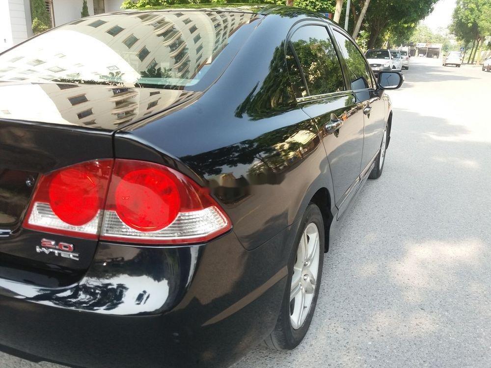 Cần bán lại xe Honda Civic năm sản xuất 2007, màu đen chính chủ xe nguyên bản (5)