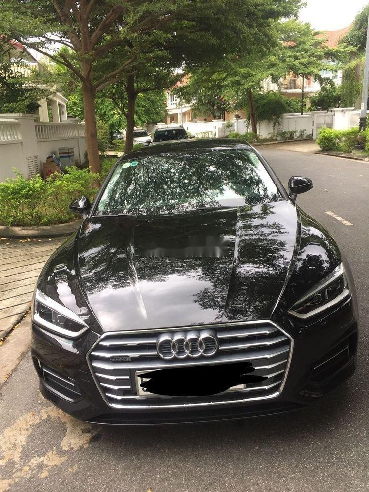Bán Audi A5 đời 2017, màu đen, nhập khẩu   (1)