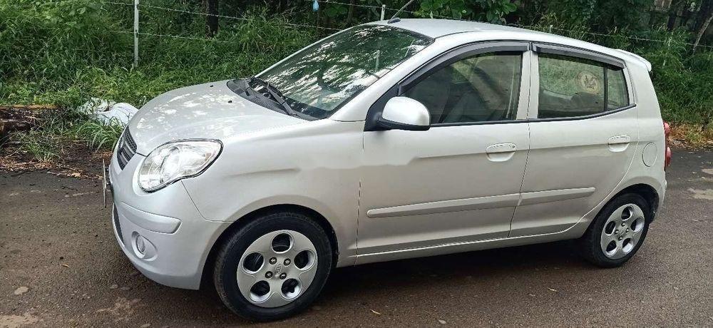 Bán xe Kia Morning đời 2011, màu bạc chính chủ xe nguyên bản (12)