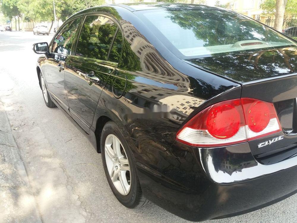 Cần bán lại xe Honda Civic năm sản xuất 2007, màu đen chính chủ xe nguyên bản (4)