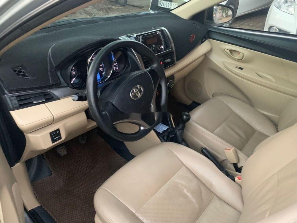 Bán Toyota Vios sản xuất 2016, màu trắng xe nguyên bản (5)