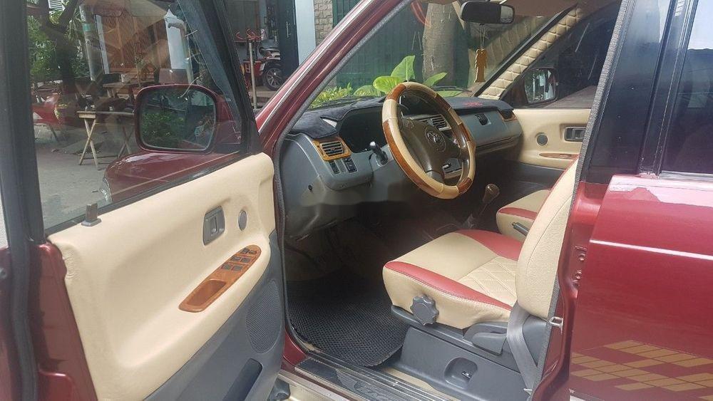 Bán xe Toyota Zace 2005, màu đỏ chính chủ (4)