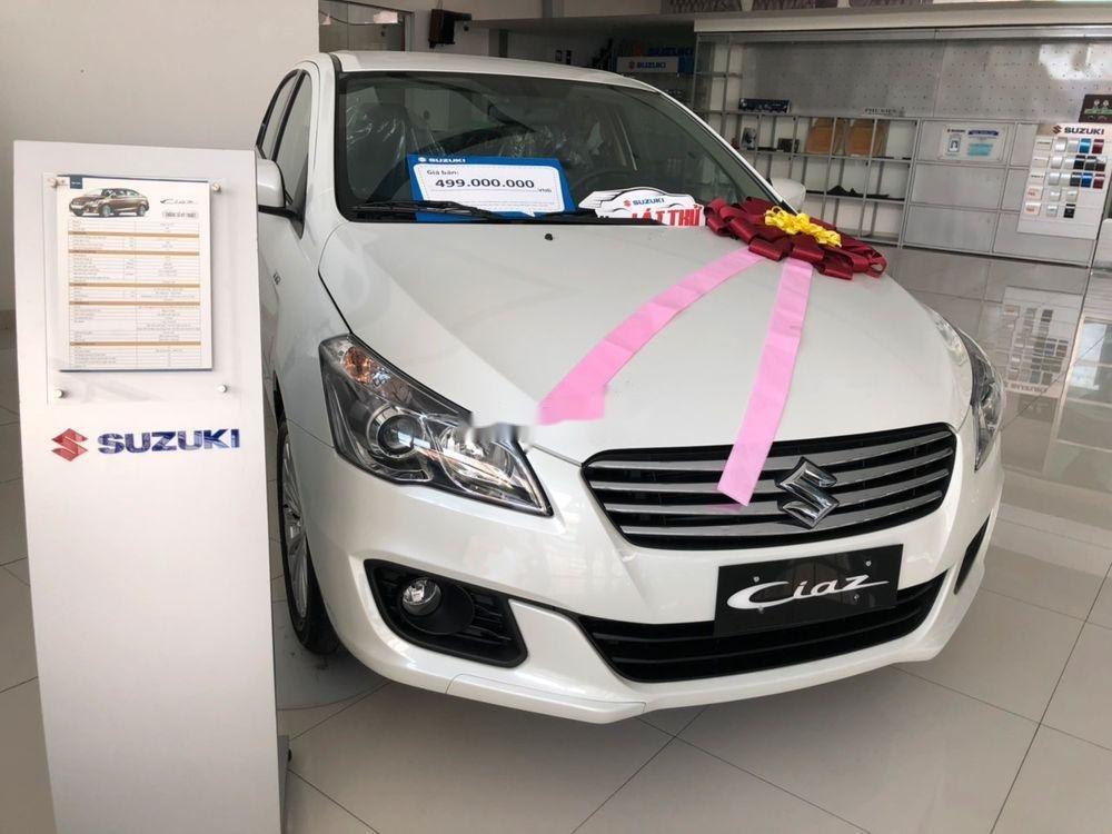 Bán Suzuki Ciaz sản xuất 2019, màu trắng, xe nhập chính hãng (2)