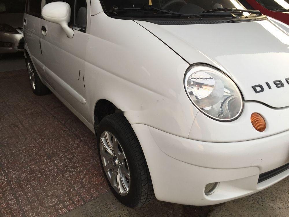 Cần bán gấp Daewoo Matiz sản xuất 2002, màu trắng, 110 triệu (2)
