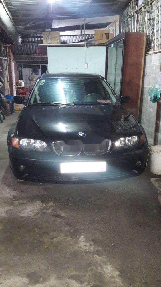 Bán xe BMW 3 Series 2004, màu đen, xe nhập khẩu chính hãng (1)
