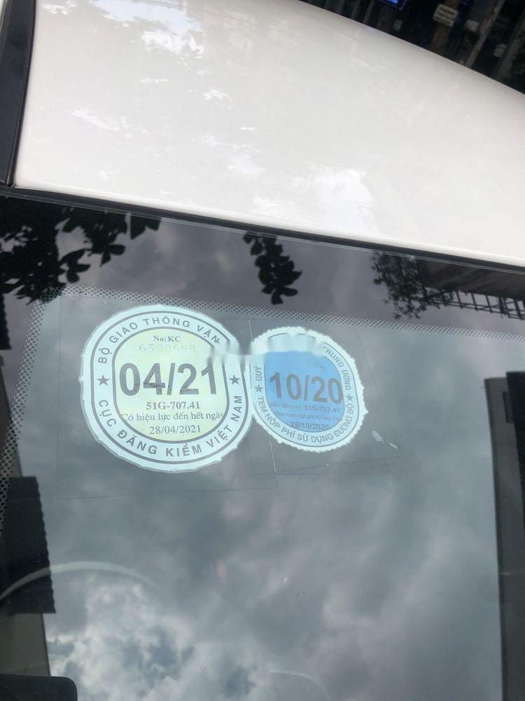 Cần bán gấp Kia Morning năm sản xuất 2018, màu trắng chính chủ xe nguyên bản (2)