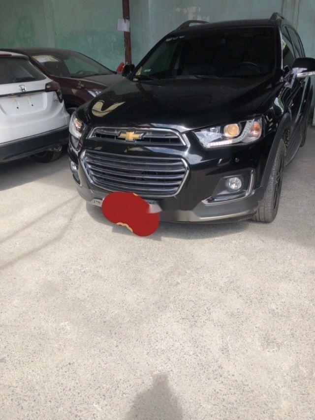 Bán xe Chevrolet Captiva năm sản xuất 2016, màu đen chính chủ xe nguyên bản (1)