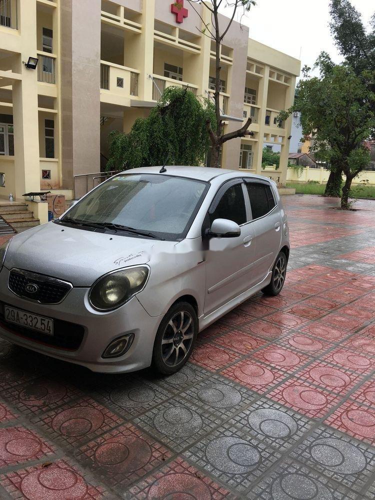 Bán ô tô Kia Morning đời 2011, màu bạc (1)