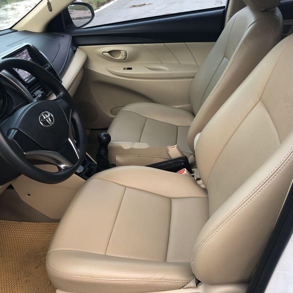 Bán Toyota Vios sản xuất năm 2017, màu trắng xe gia đình xe nguyên bản (7)