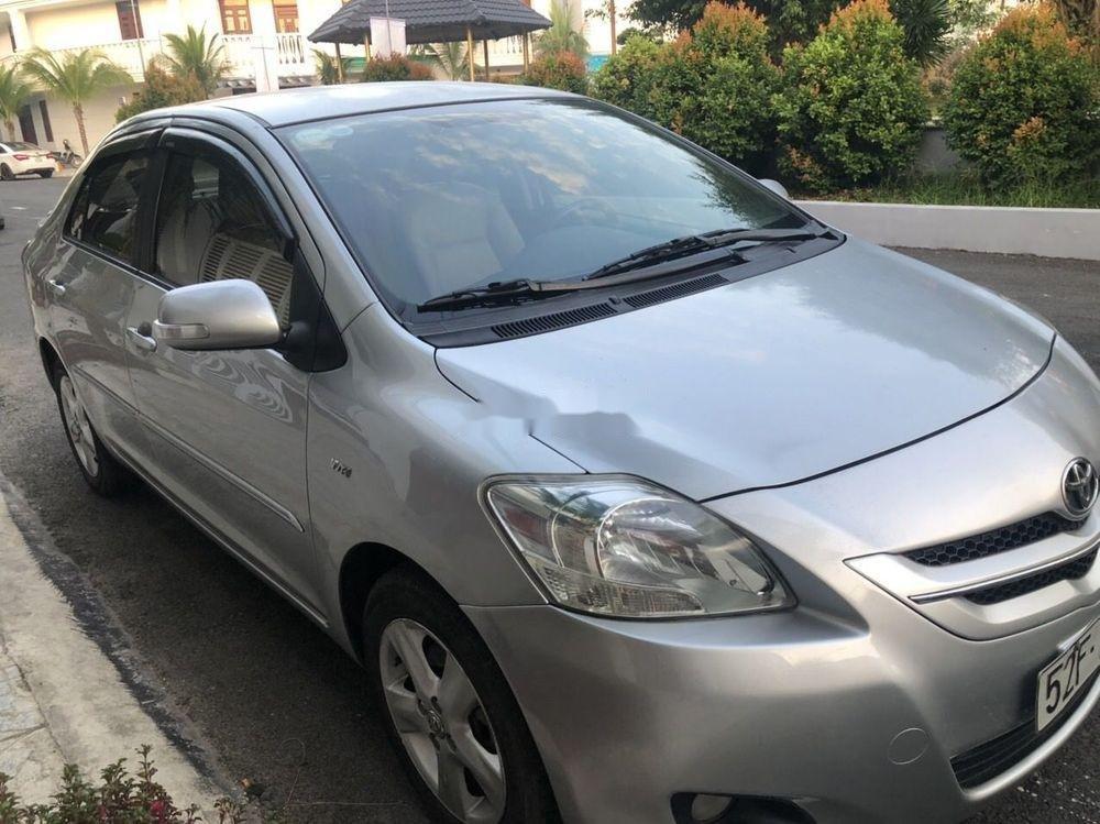 Bán ô tô Toyota Vios AT sản xuất năm 2007, màu bạc (1)