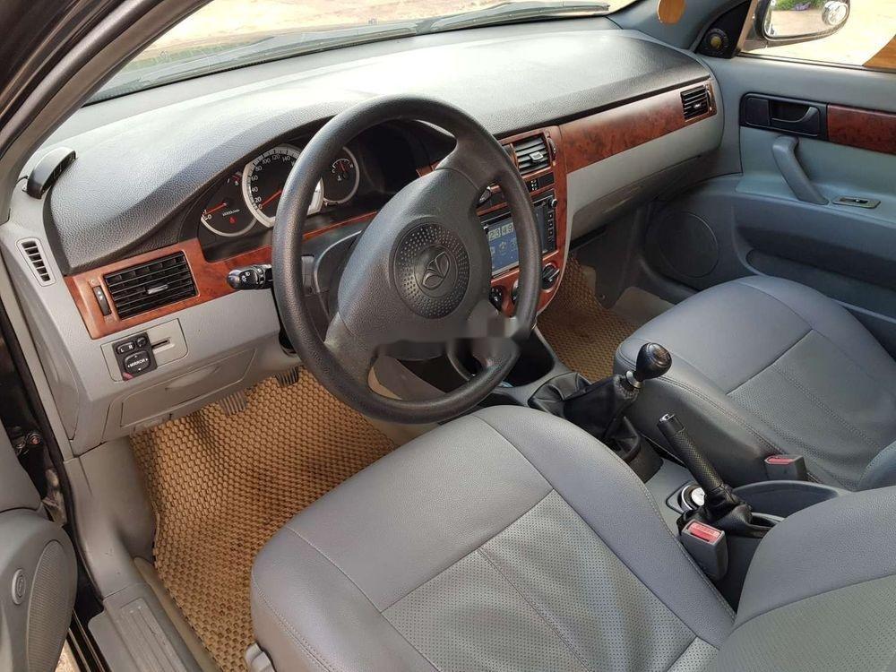 Cần bán xe Daewoo Lacetti 2008, màu đen chính chủ, giá 173tr xe nguyên bản (6)