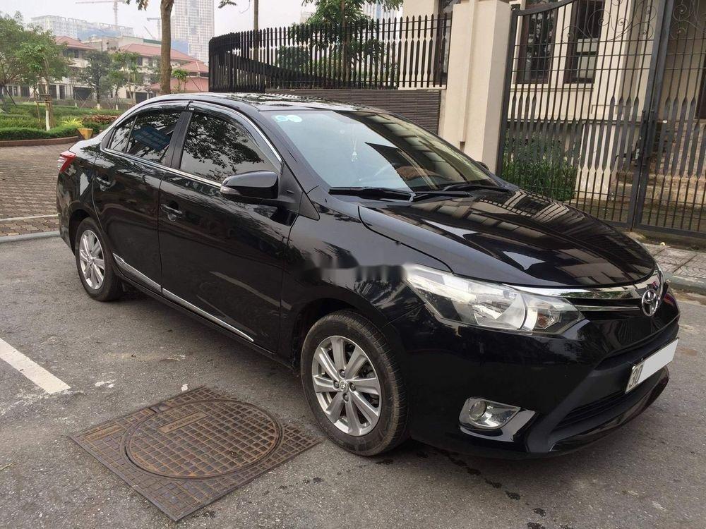 Bán xe Toyota Vios đời 2015, màu đen, chính chủ, 382tr (2)
