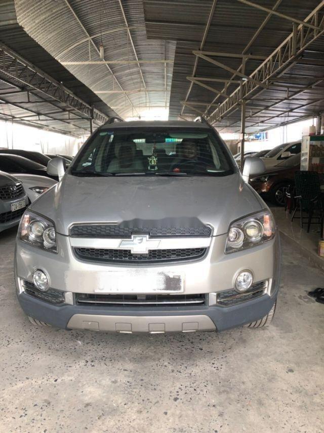 Cần bán Chevrolet Captiva 2010, màu bạc, nhập khẩu nguyên chiếc, giá chỉ 350 triệu (2)
