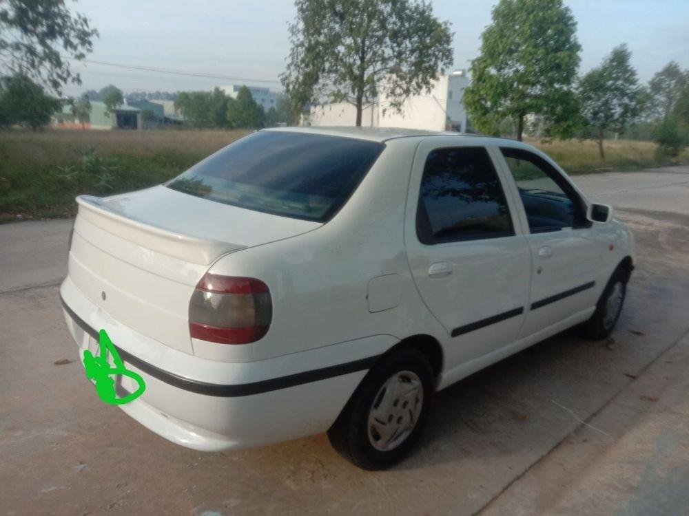 Cần bán xe Fiat Siena sản xuất 2003, màu trắng chính chủ, giá tốt xe nguyên bản (2)