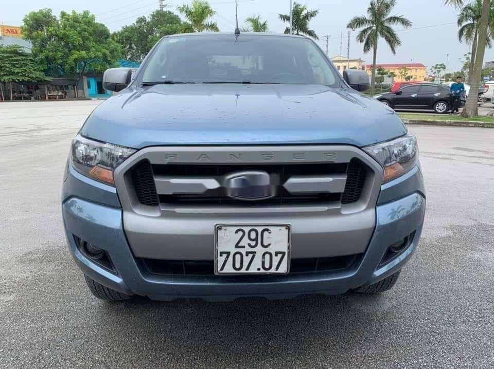 Bán Ford Ranger năm 2015, màu xanh lam xe gia đình giá cạnh tranh xe nguyên bản (8)