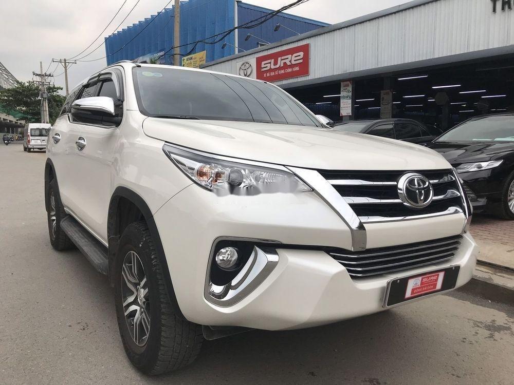 Bán ô tô Toyota Fortuner đời 2019, màu trắng xe nguyên bản (2)