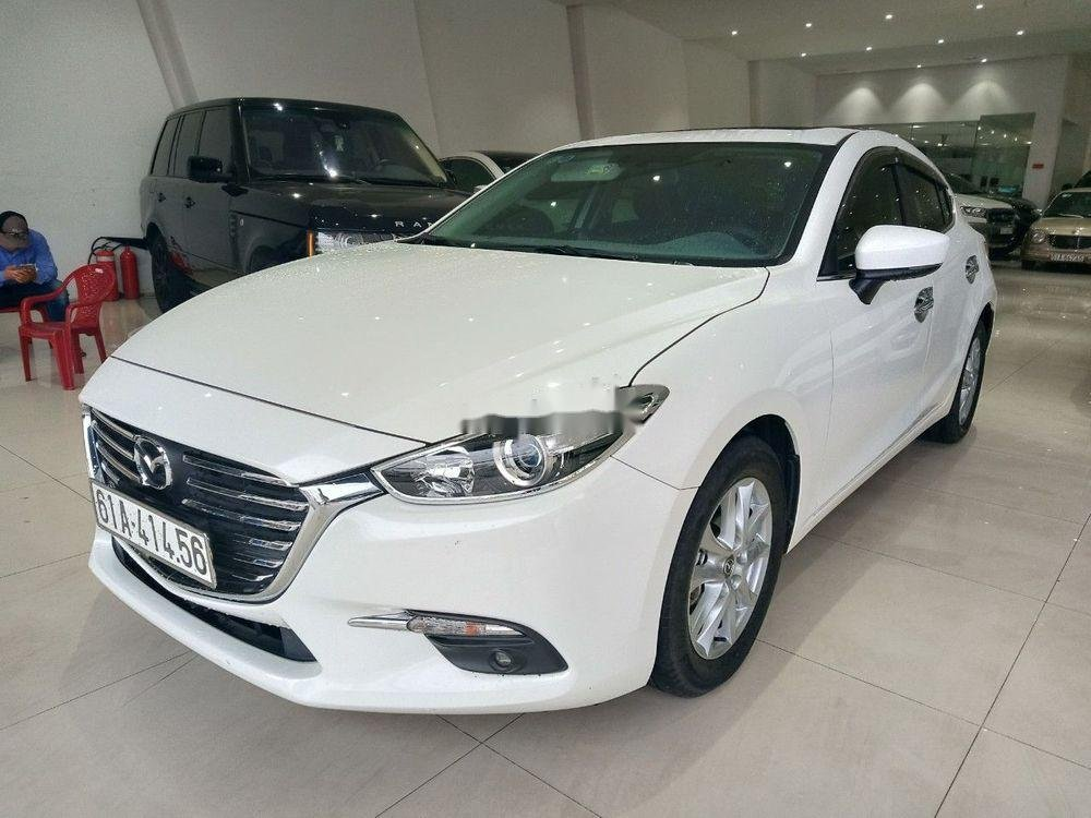 Bán ô tô Mazda 3 đời 2017, màu trắng xe gia đình giá cạnh tranh xe nguyên bản (1)