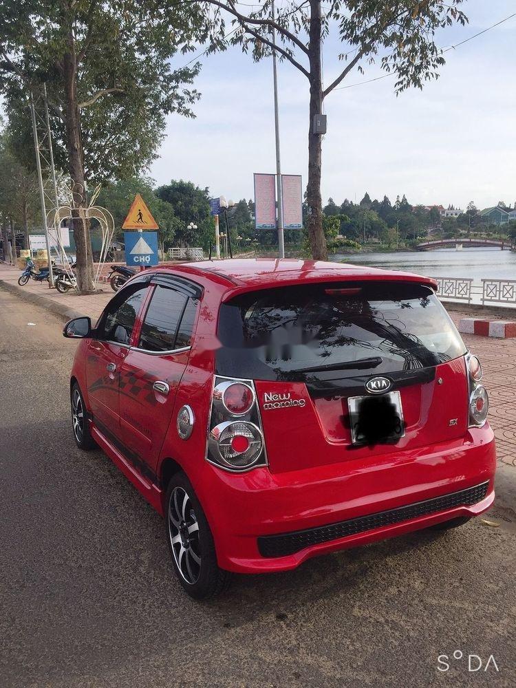 Cần bán xe Kia Morning năm sản xuất 2010, màu đỏ, nhập khẩu chính hãng (1)