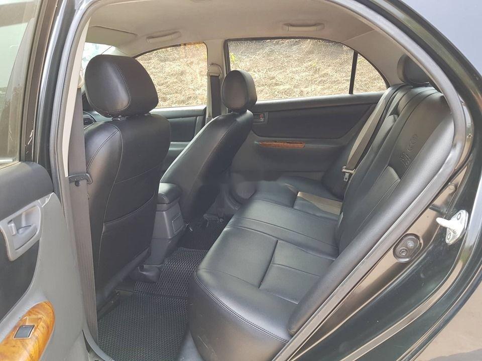 Cần bán gấp Toyota Corolla Altis năm 2007, màu đen chính chủ xe nguyên bản (9)