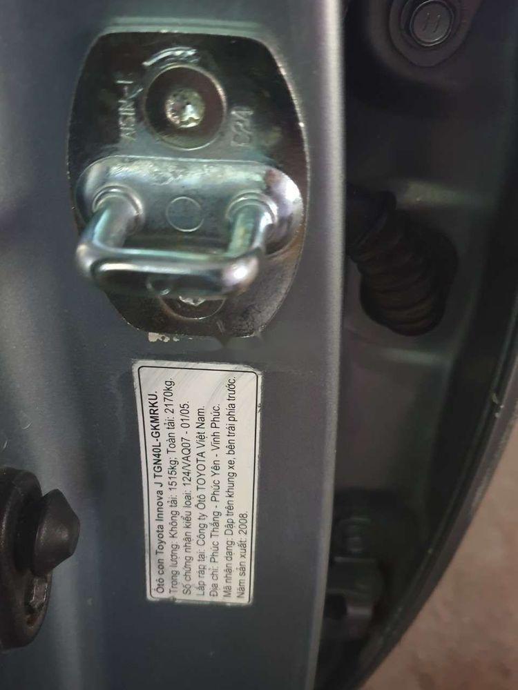 Bán Toyota Innova 2.0JMT năm sản xuất 2008 xe gia đình (9)