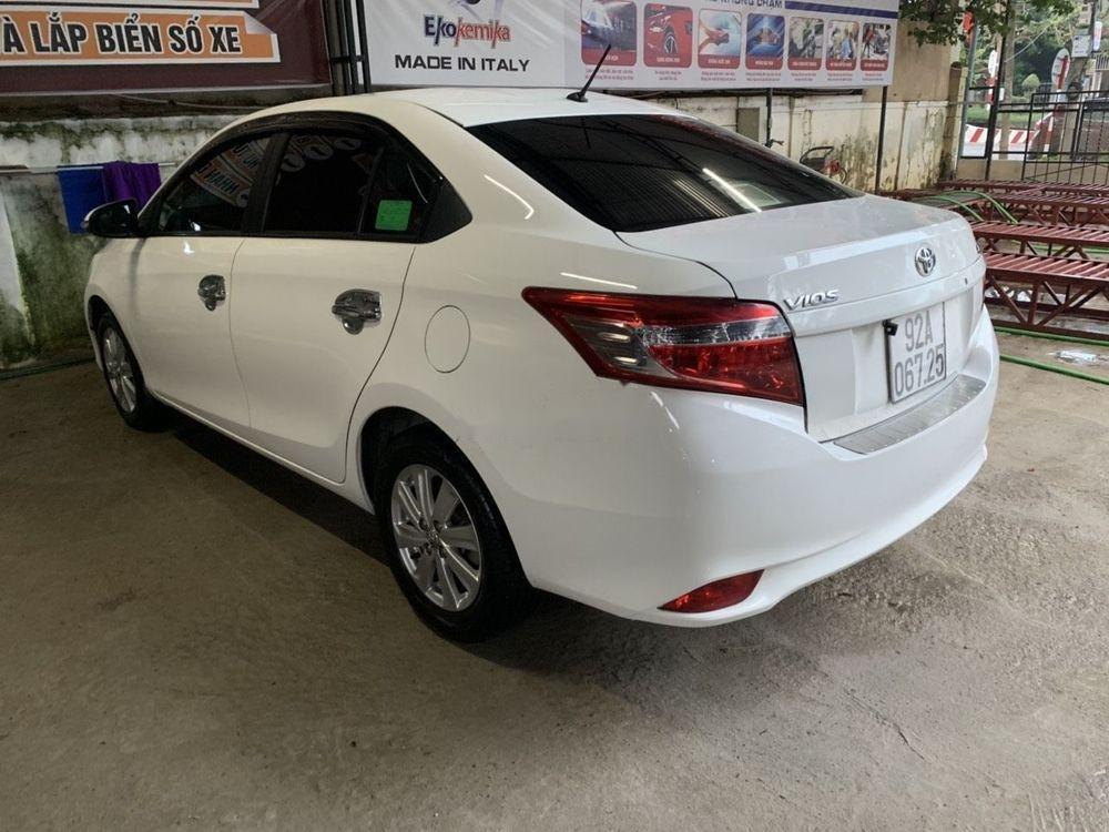 Bán Toyota Vios sản xuất 2016, màu trắng xe nguyên bản (1)