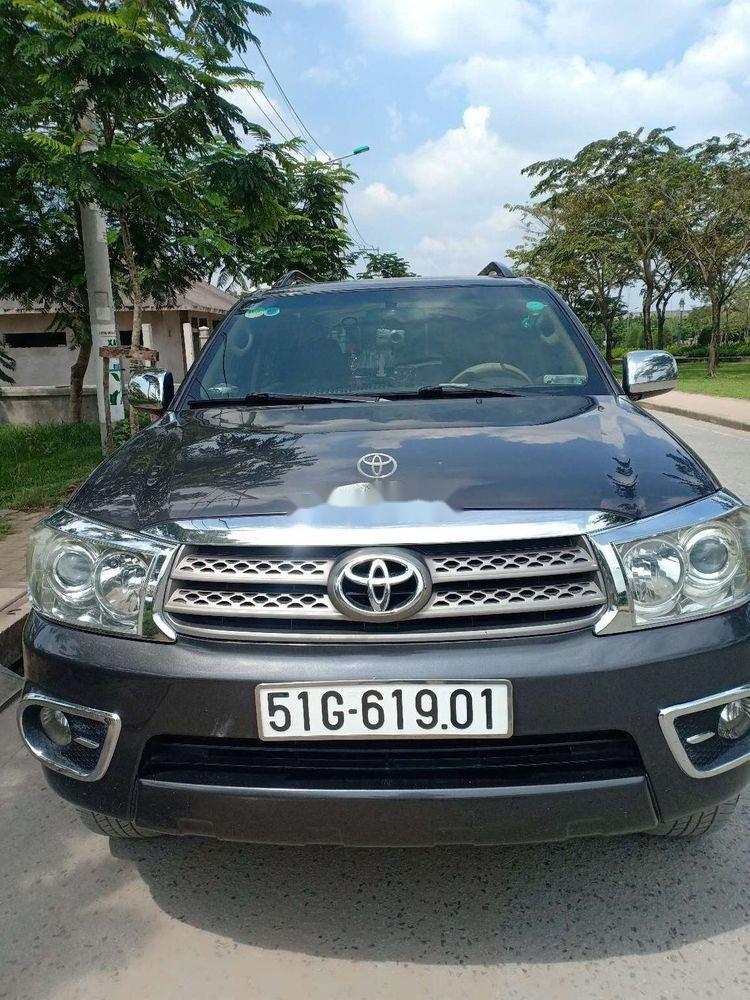 Cần bán Toyota Fortuner đời 2010, màu xám, xe nhập chính hãng (3)