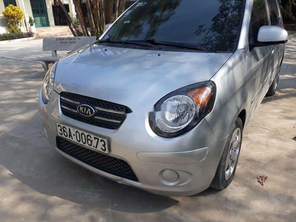 Cần bán lại xe Kia Morning MT đời 2012, màu bạc, 145tr (1)