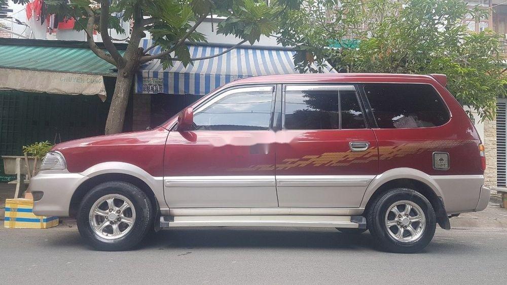 Bán xe Toyota Zace 2005, màu đỏ chính chủ (2)