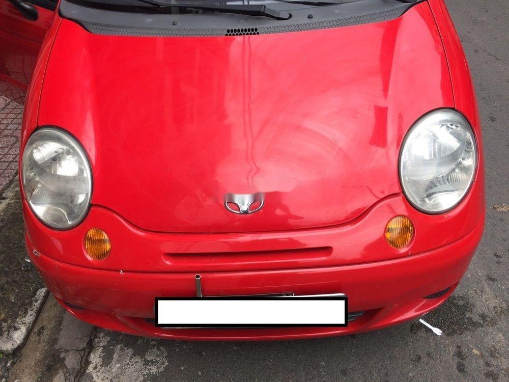 Cần bán lại xe Daewoo Matiz đời 2003, màu đỏ chính chủ xe nguyên bản (2)