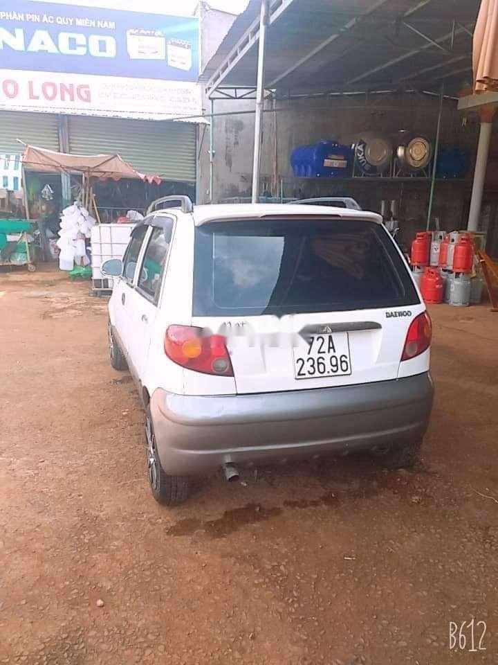 Bán Daewoo Matiz năm sản xuất 2008, màu trắng xe gia đình, giá 95tr xe còn nguyên bản (11)
