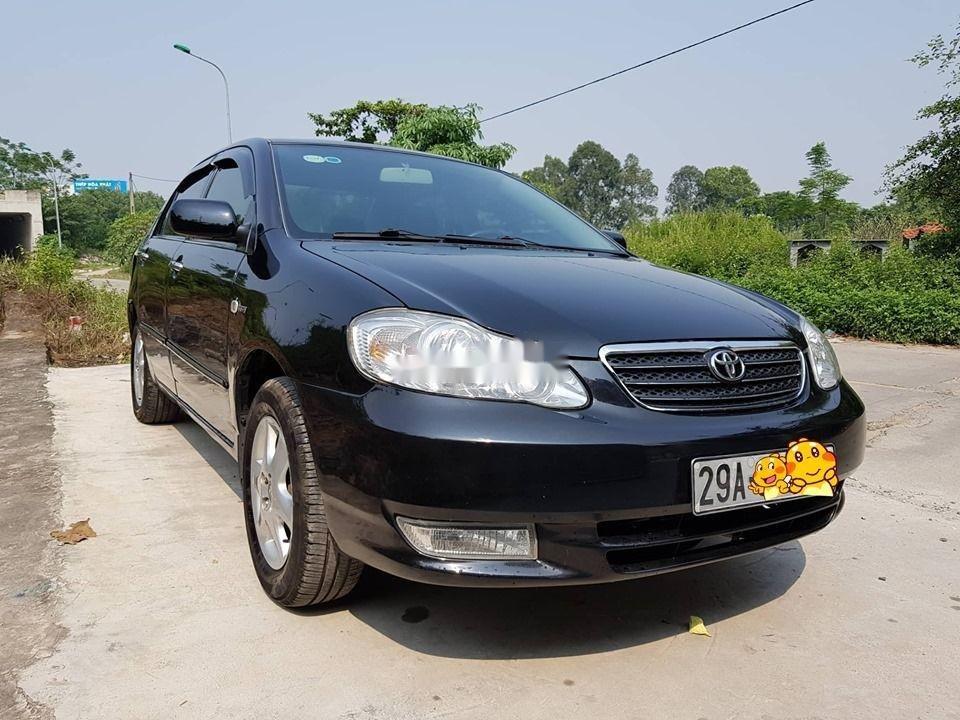 Cần bán gấp Toyota Corolla Altis năm 2007, màu đen chính chủ xe nguyên bản (3)