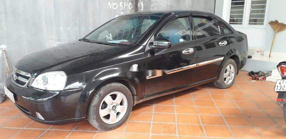 Cần bán Daewoo Lacetti năm 2010, màu đen xe gia đình xe nguyên bản (5)