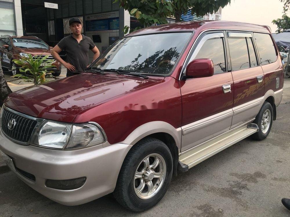 Bán xe Toyota Zace 2005, màu đỏ chính chủ (1)